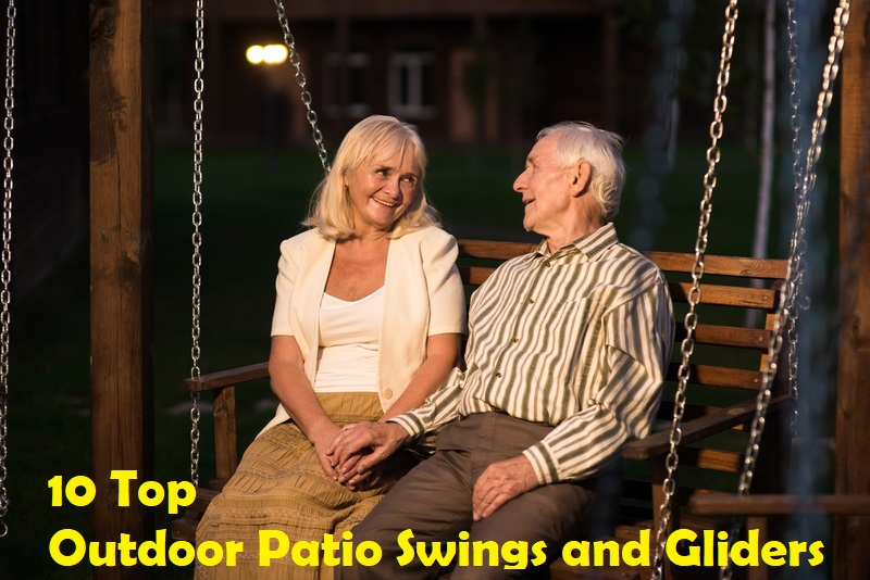 10 Top Outdoor Patio Swings and Gliders